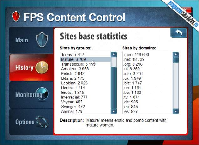 2-FPS Content Control-baza-date-site