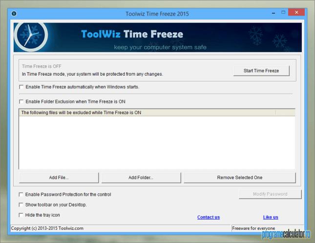 ToolWiz Time Freeze