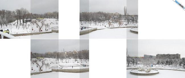 compunere fotografie panoramica
