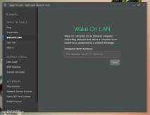 NetCrunch - Wake on LAN