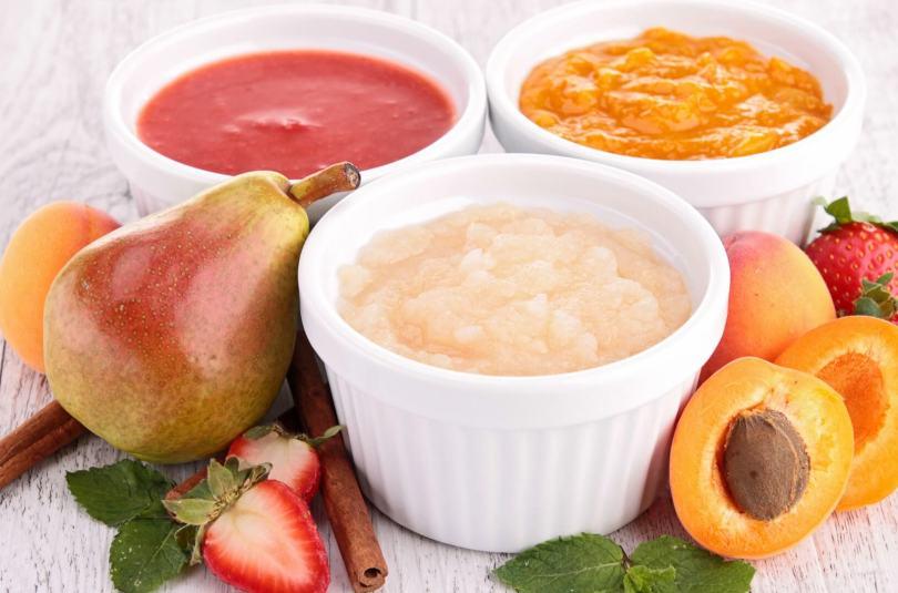Compote de poires et abricots