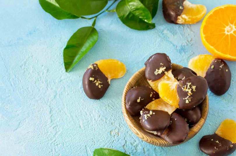 Clémentines mi-chocolat