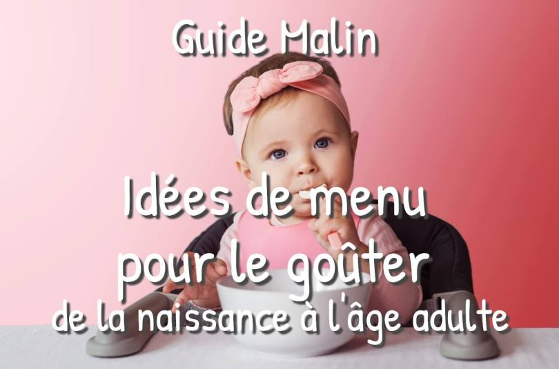 Idées de menu pour le goûter de vos enfants
