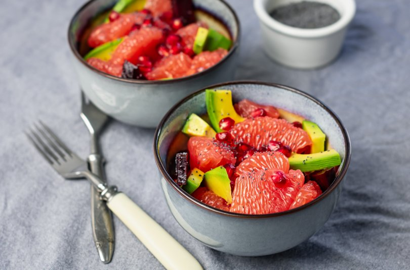 Salade de fruits à l'avocat