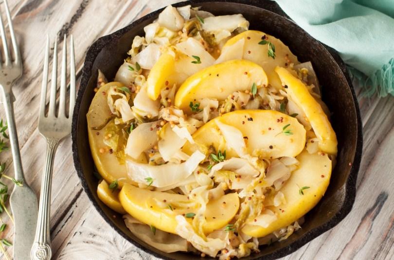 Salade de chou et pomme granny