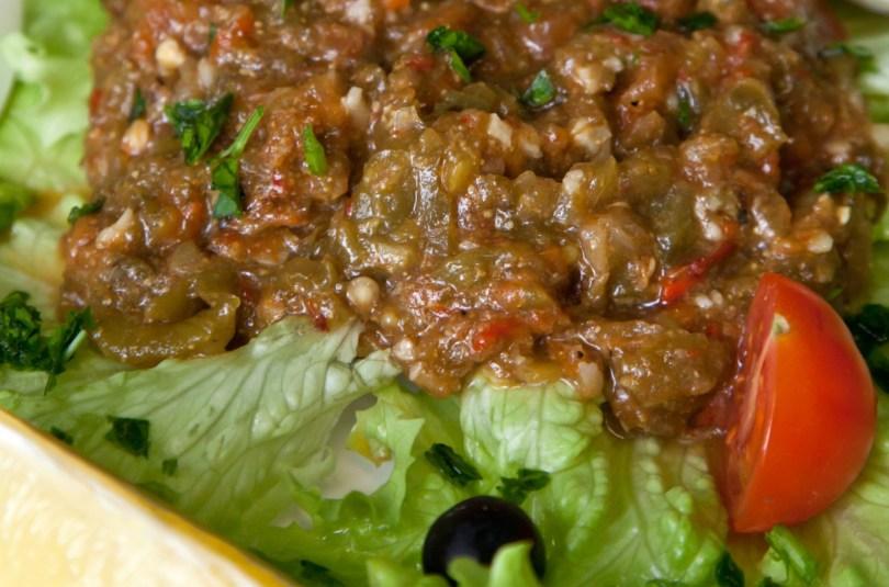 Salade méchouia (Maroc)
