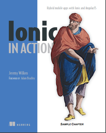 ionic in action book
