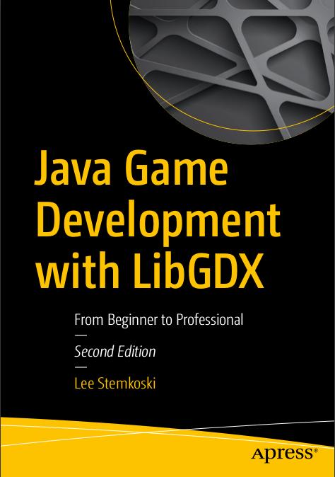 Java Game Development With Libgdx 2nd Edition Pdf Programmer Books