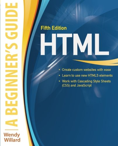 Html A Beginner S Guide 5th Edition Pdf Programmer Books