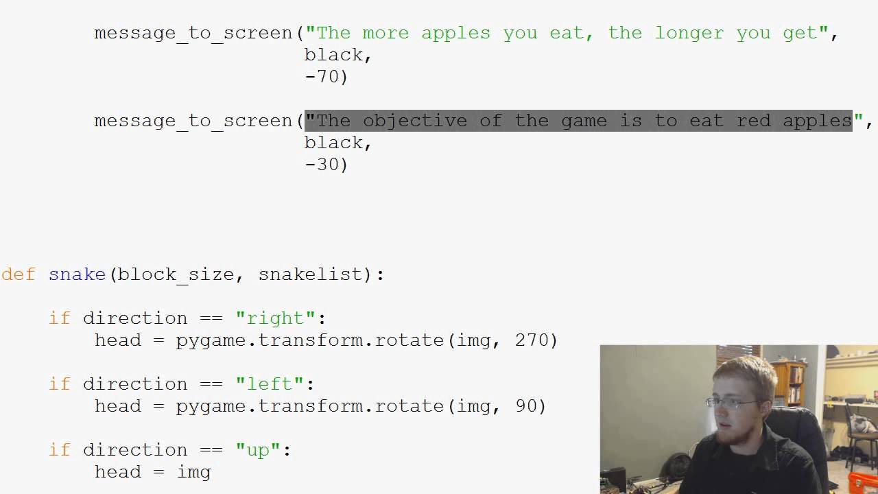Pygame (Python Game Development) Tutorial - 33 - Start