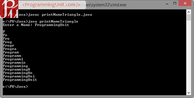 Print_Name_Triangle_Java