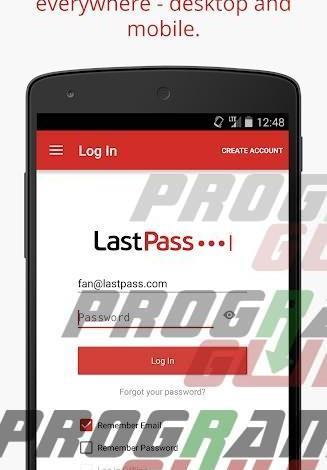 برنامج LastPass Password Manager