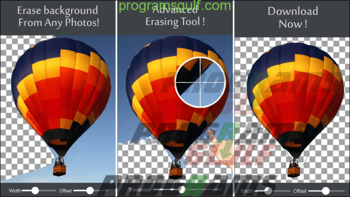 تطبيق Background Eraser and Remover