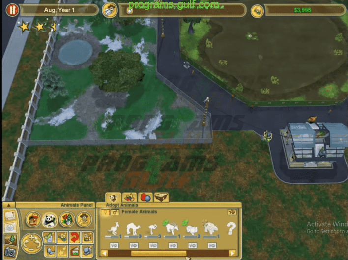 لعبة Zoo Tycoon 2 Endangered Species