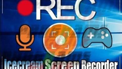 Photo of برنامج تصوير الشاشة فيديو للكمبيوتر Icecream Screen Recorder Full