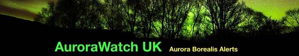 AuroraWatch UK Aurora Borealis Alerts