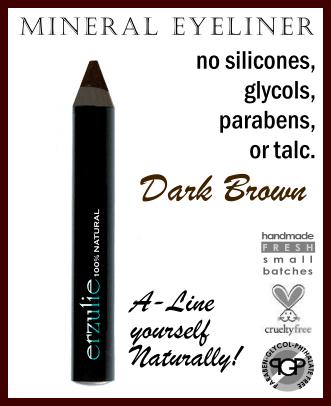 MINERAL EYELINER PENCIL  Dark Brown
