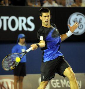 Novak Djokovic Concentration externe