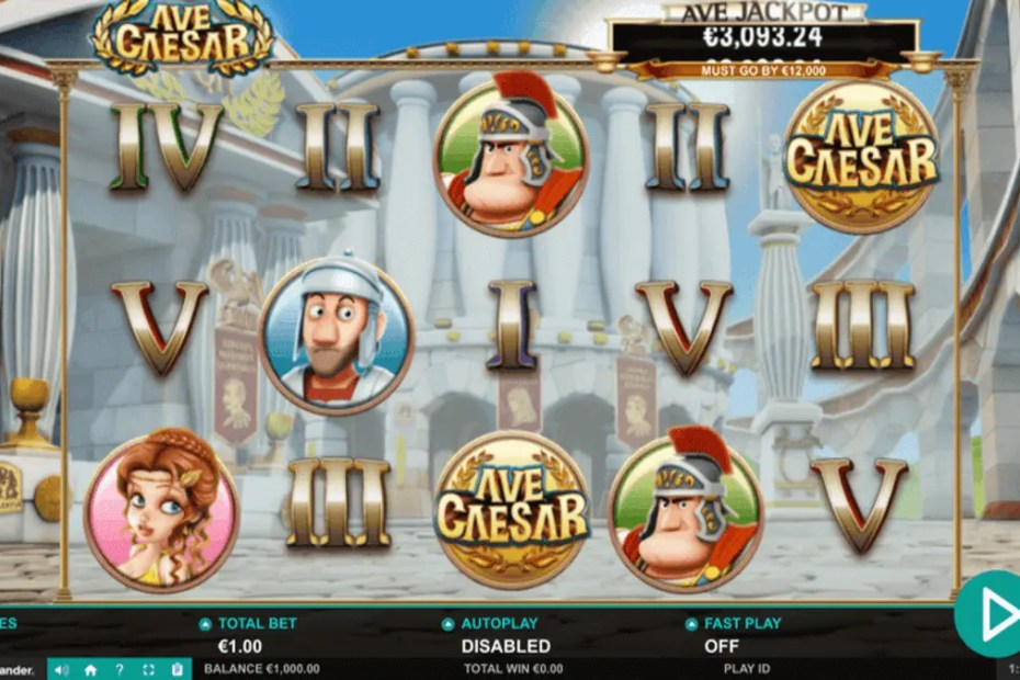 Ave Caesar spilleautomat
