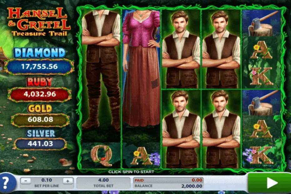 Hansel and Gretel Treasure Trail Slot