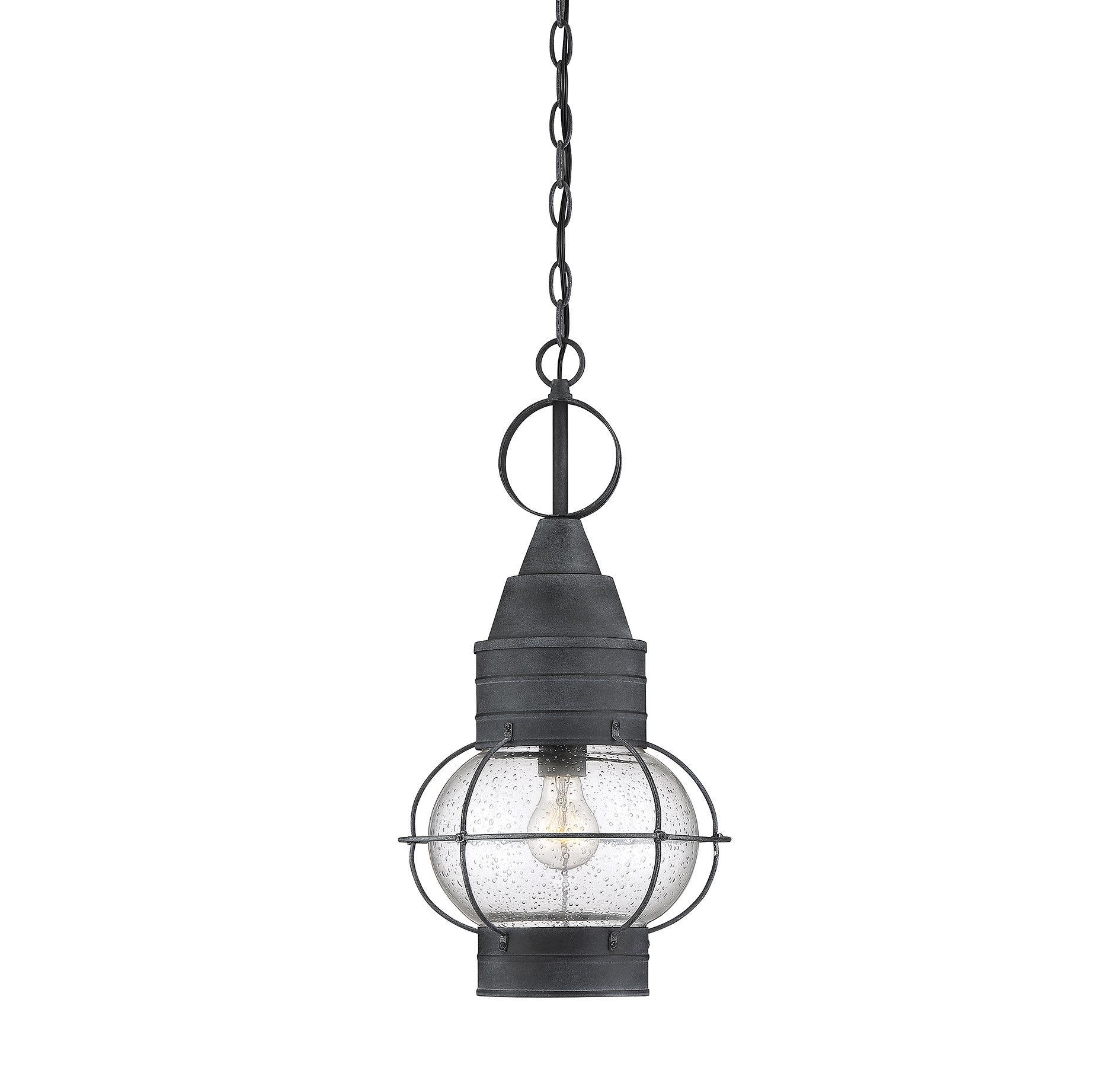 enfield foyer light in oxidized black
