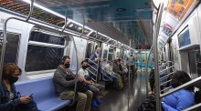 Due to power surge, half of the New York subway was shut down for five hours