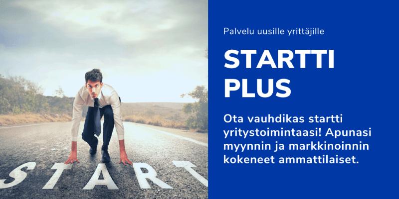kansikuva Startti Plus