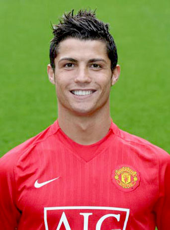 Cristiano Ronaldo With His Metro Mullet Hairstyle