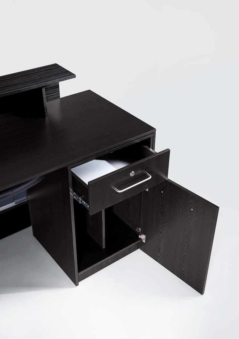 Louise SAV 425 Savvy Kaemark Reception Desk In Brown Or