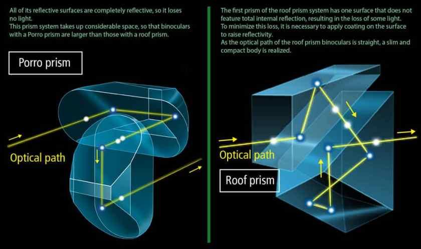Prism Types of Binoculars Explained