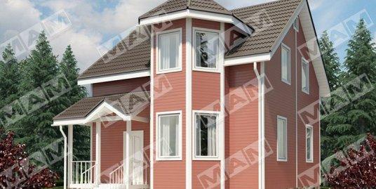 Proiect de Casa cu mansarda 381