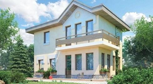 Proiect de Casa cu etaj 380