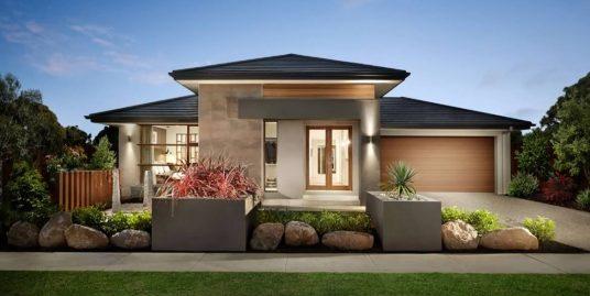 Proiect de casa cu parter si cu garaj, Augusta