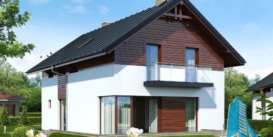Proiect de casa cu parter, etaj -100597