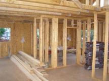 Casa din lemn canadiana