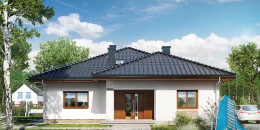 Proiect de casa cu parter si mansarda-100695