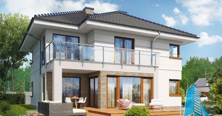Proiectul de casa de locuit cu parter etaj si garaj for Case cu etaj si garaj