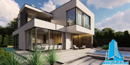 Casa cu parter, etaj si garaj alaturat-170m2-101063