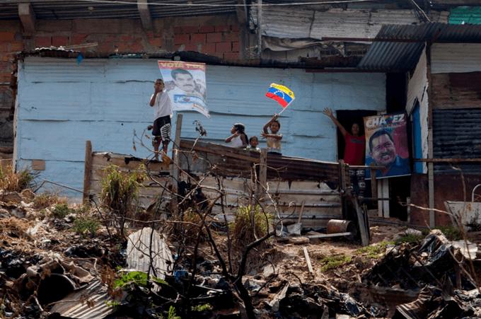 Pobreza crónica en Venezuela