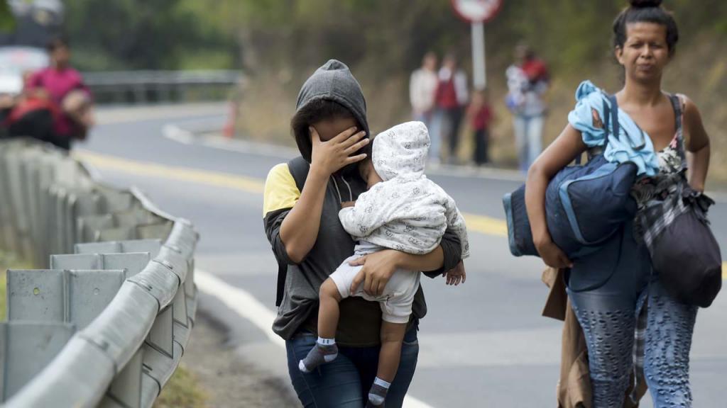 migrantes venezolanas en Antioquia