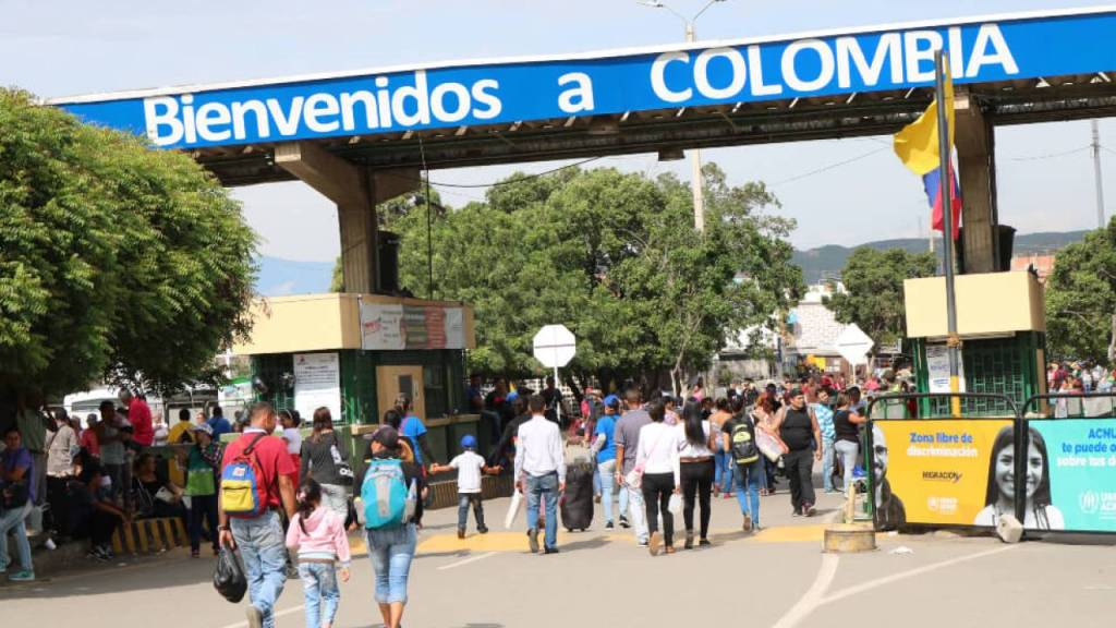 Colombia refugiados y migrantes
