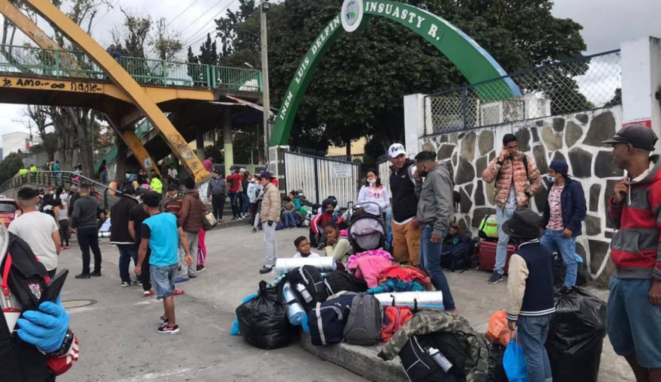 migrantes de Venezuela en Nariño