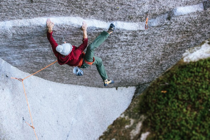 getting back to project mode on 'Dreamcatcher' in Squamish (CAN).