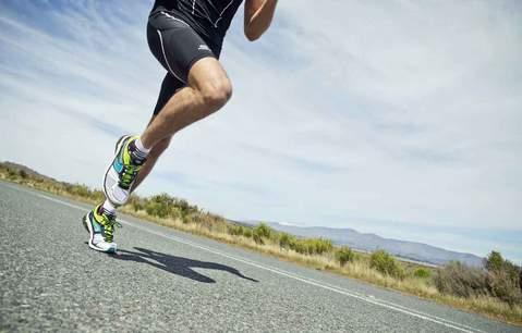 infortunio nel running: runner