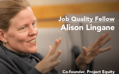 Aspen Institute's Economic Opportunities Program interviews Alison Lingane