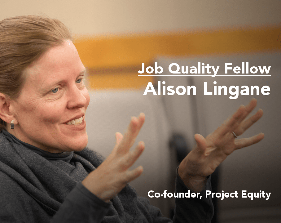 Alison Lingane, Project Equity co-founder