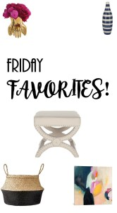 Project Allen designs Friday Favorites