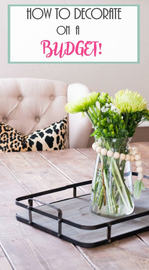 Decorating Tips and Tricks. How To Decorate On A Budget!