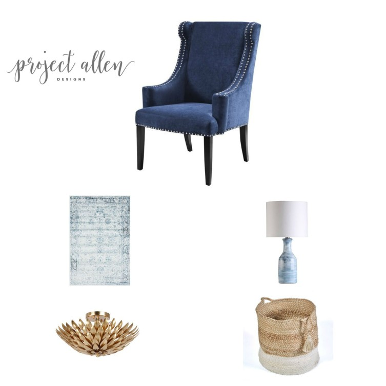 friday favorites, home decor, home decor ideas, brass light fixture