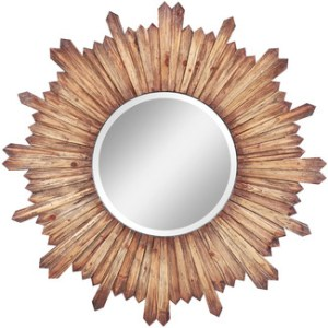 friday favorites, home decor, home decor ideas, sunburst mirror. wood mirror.